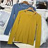 Женский свитер с бусинами на горловине 42-44 (в расцветках), фото 2