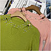 Женский свитер с бусинами на горловине 42-44 (в расцветках), фото 4