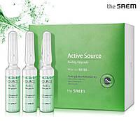 Пилинг-сыворотка для обновления кожи The Saem Active Source Peeling Ampoule, 2 мл, фото 1