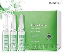 Пилинг-сыворотка для обновления кожи The Saem Active Source Peeling Ampoule, 2 мл