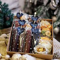 """Подарунковий набір """"Princess BOX"""". Пастила та фруктові чипси"""