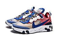 Кроссовки мужские 15393, Nike React, синие ( 41 42 44  ), фото 7