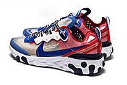 Кроссовки мужские 15393, Nike React, синие ( 41 42 44  ), фото 8