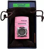 Розовая Зажигалка Гламурная Зажигалка FOCUS 3762 Стильный аксессуар Подарок Зажигалка в виде радиоприемника