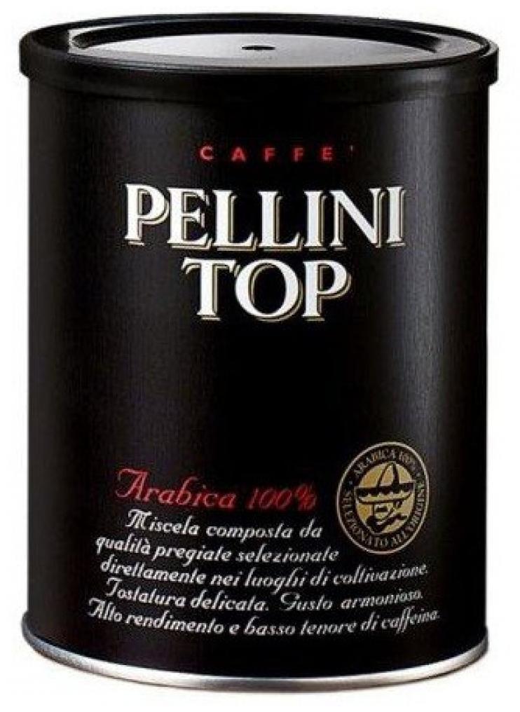 Кава мелена Pellini TOP, 250г Ж/Б