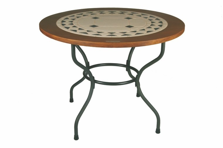 Столы из камня садовые Como 100 см