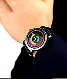 Розумні смарт годинник Lemfo K88h Plus з сенсорним IPS-дисплеєм і знімним ремінцем чорні, фото 2