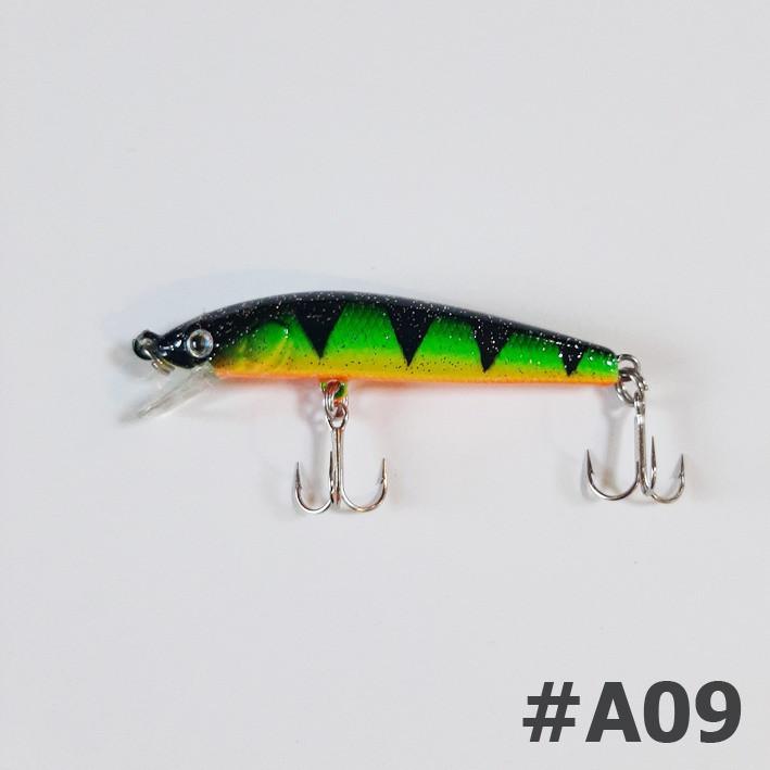 Воблер Strike Pro Swing Minnow 53F A09
