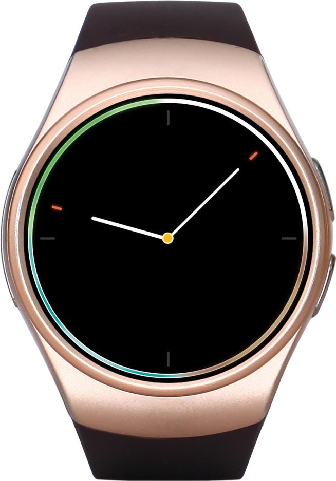 Умные часы King Wear KW18 классические  с поддержкой SIM-карты золотистые