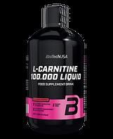 Жидкий Л-карнитин Biotech L-carnitine Liquid 100 000 500мл - вишня