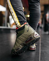 Мужские кроссовки Nike Air Max 95 Sneakerboot Green, фото 3