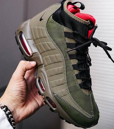 Мужские кроссовки Nike Air Max 95 Sneakerboot Green, фото 2