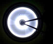 Подсветка на колеса А9 Белая