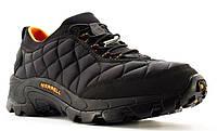 Оригинал Зимние мужские ботинки Merrell ICE CAP MOC II J61391 BLACK/ORANGE