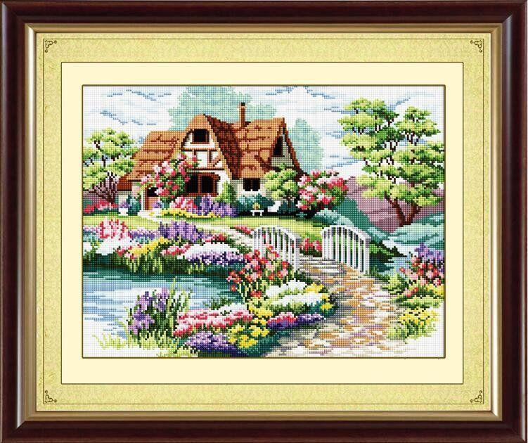 30068 Набор алмазной мозаики Домик мечты