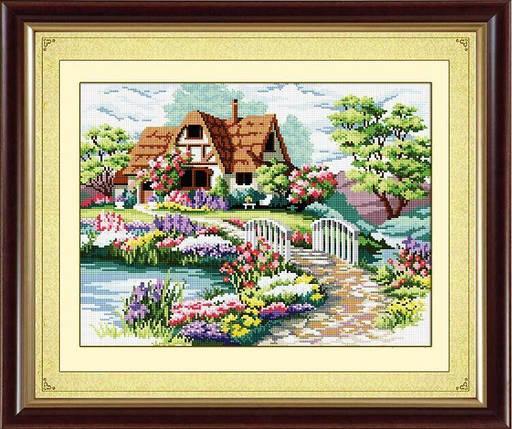 30068 Набор алмазной мозаики Домик мечты, фото 2