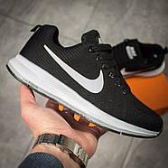 Кроссовки женские 16021, Nike Zoom Pegasus, черные ( 37 38  ), фото 7