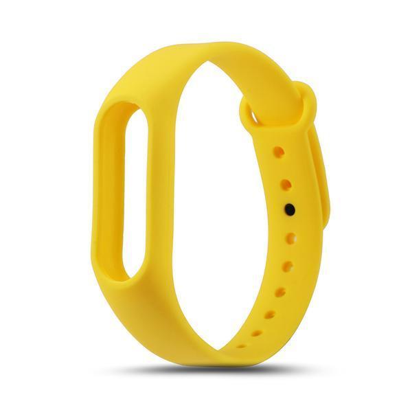 Ремешок для фитнес трекера Xiaomi Mi Band 2 Желтый