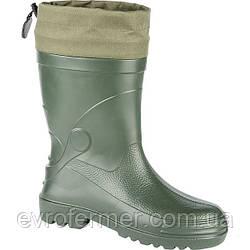 Зимові чоботи рибальські з манжетом Wader (Lemigo)