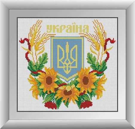 30085 Набор алмазной мозаики Герб Украины 2, фото 2