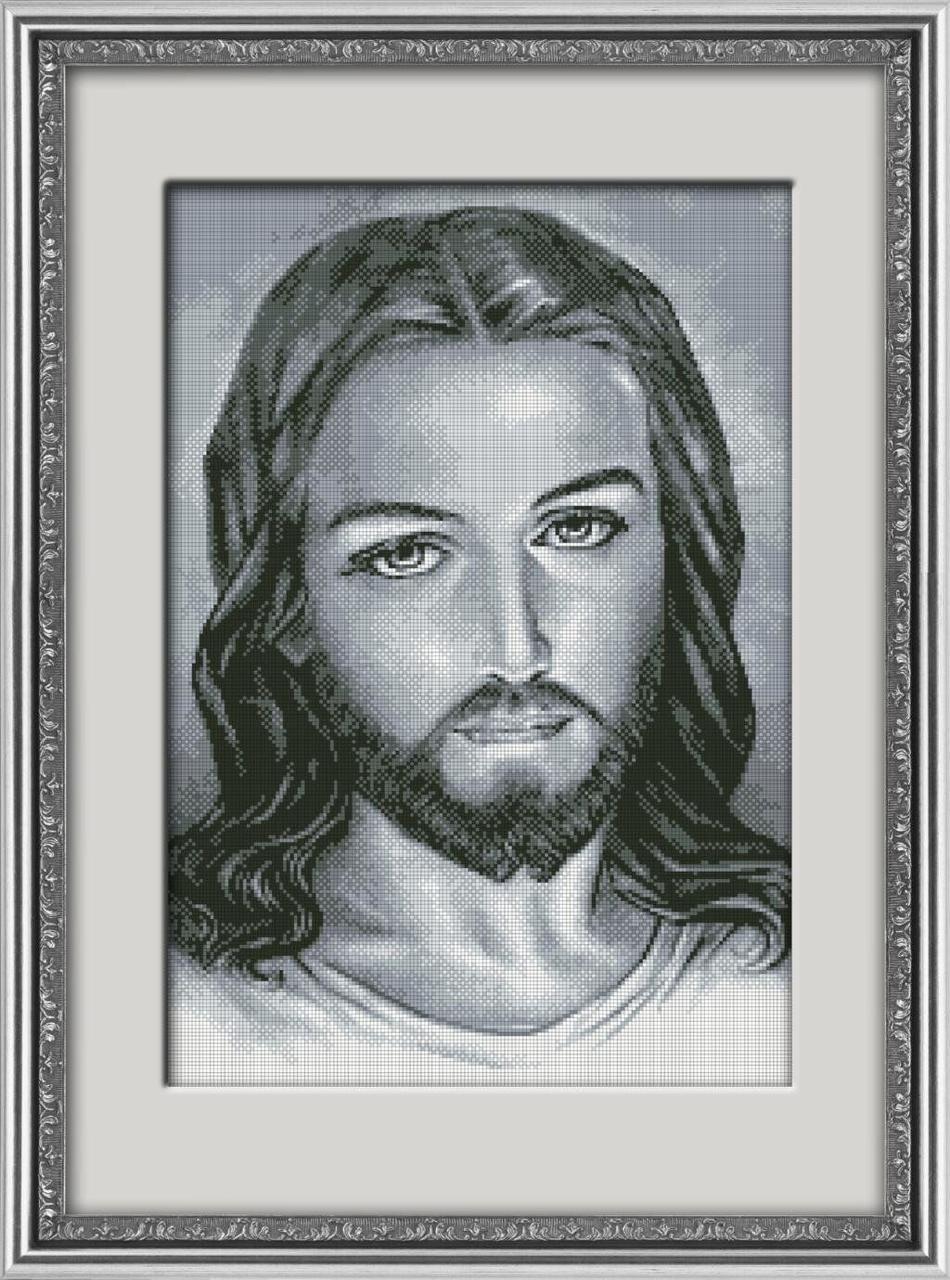30091 Набор алмазной мозаики Иисус