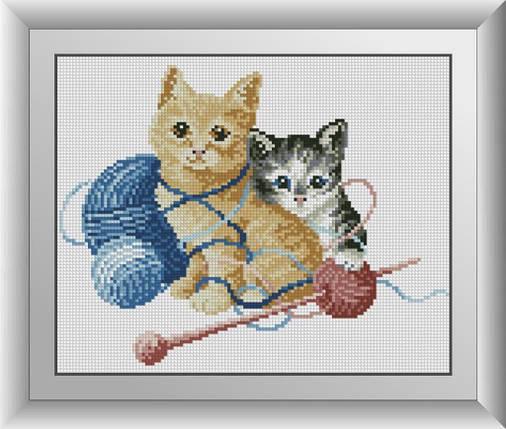 30111 Набор алмазной мозаики Котята, фото 2
