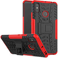 Чехол Armor Case для Xiaomi Mi Max 3 Красный