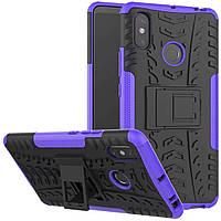 Чехол Armor Case для Xiaomi Mi Max 3 Фиолетовый