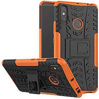 Чехол Armor Case для Xiaomi Mi Max 3 Оранжевый
