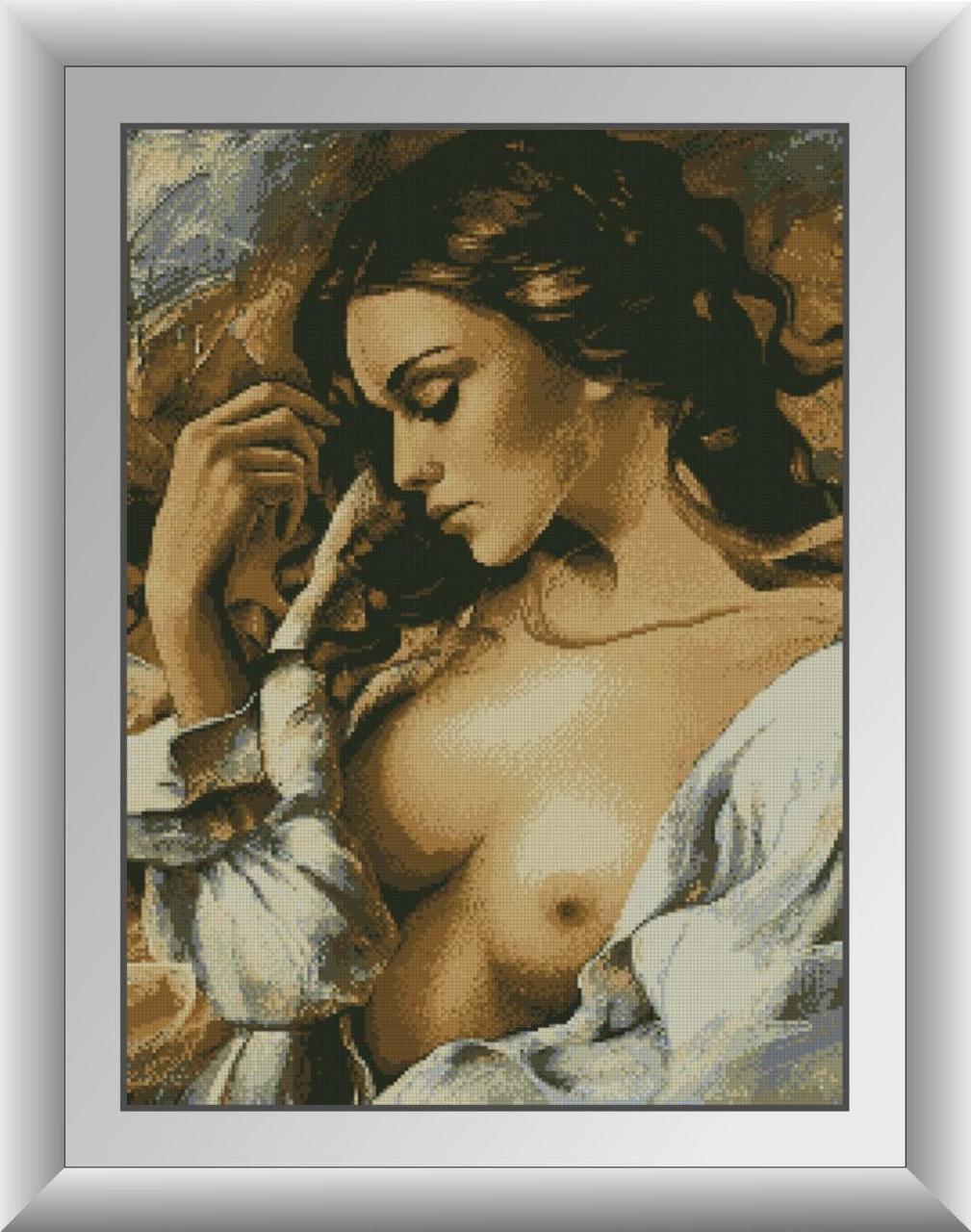 30124 Набор алмазной мозаики Богиня любви