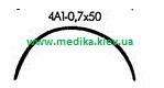 4А1 0,7 х 50 Игла хирургическая изогнутая 4/8 окружности