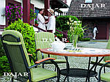 Столи з каменю садові Como 100 см, фото 4