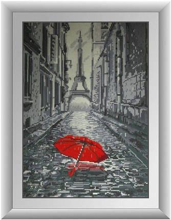 30130 Набор алмазной мозаики Дождь в Париже, фото 2