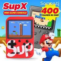 """Портативная игровая консоль SUP 400 игр Game BOX BLACK, Приставка SUP Game Box 3"""" разные цвета"""