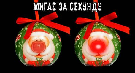 Украшение декоративное Шар LED, 8 см, House of Seasons, цвет красный, фото 2