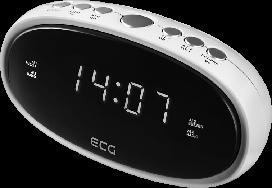 Радио-часы ECG RB-010-White