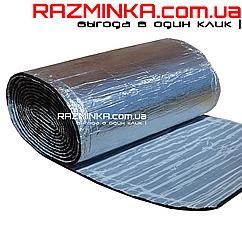 Вспененный каучук фольгированный самоклеющийся 9мм
