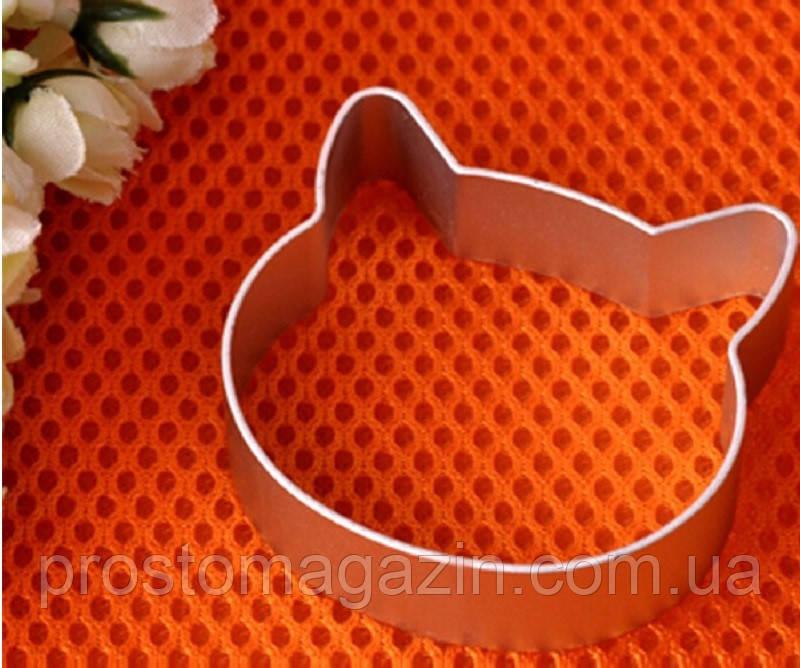Алюминиевая форма для печенья - Кот