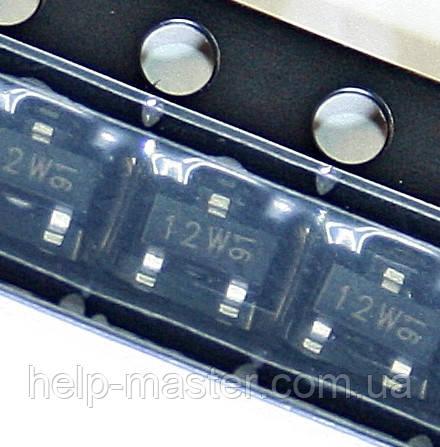 Транзистор 2N7002 (Маркування 12W) (SOT-23)