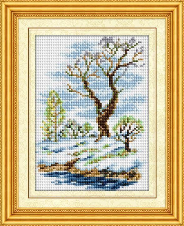 30188 Набор алмазной мозаики Весенний пейзаж