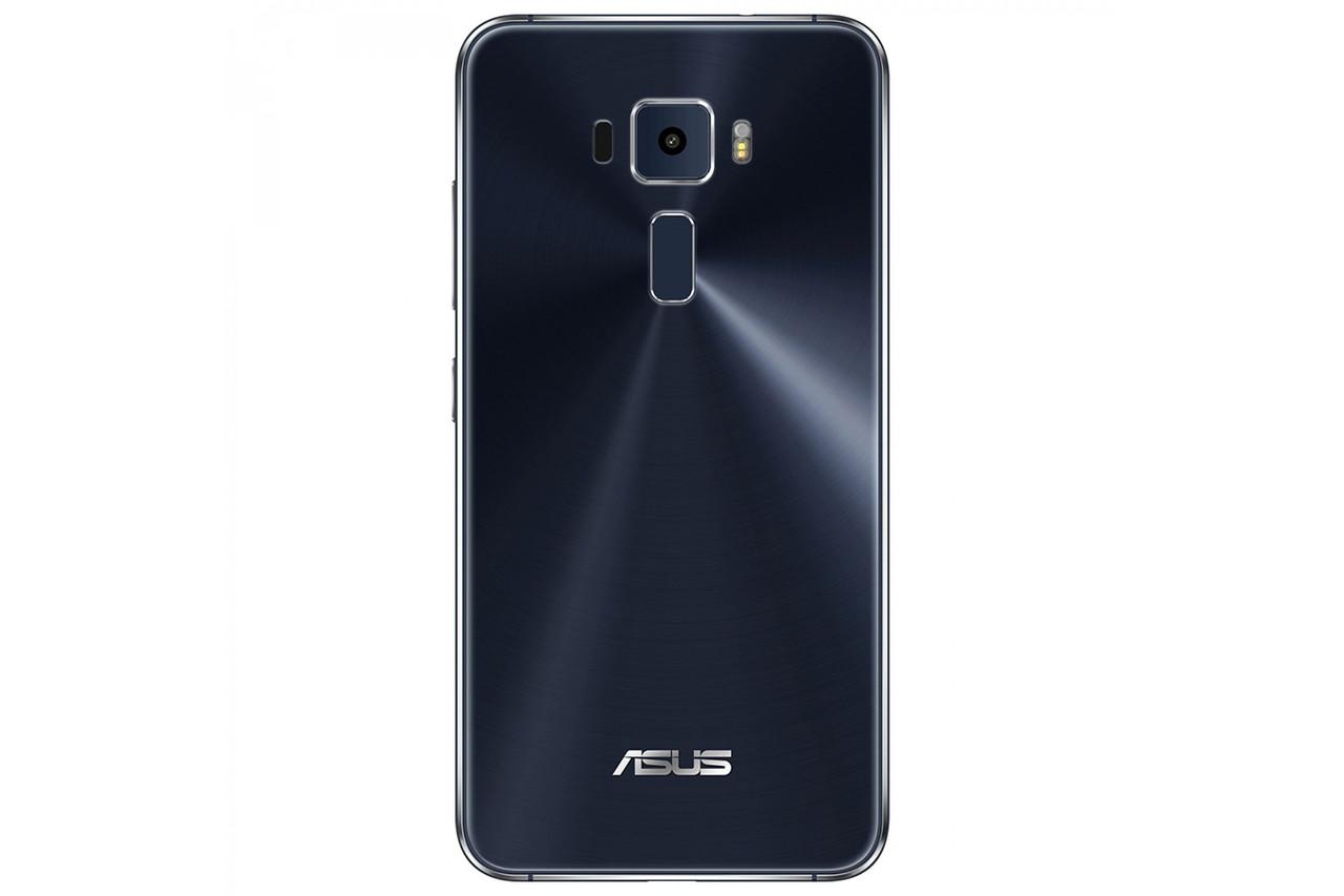 Задняя крышка Asus ZenFone 3 (ZE520KL), черная, Sapphire Black, Оригинал
