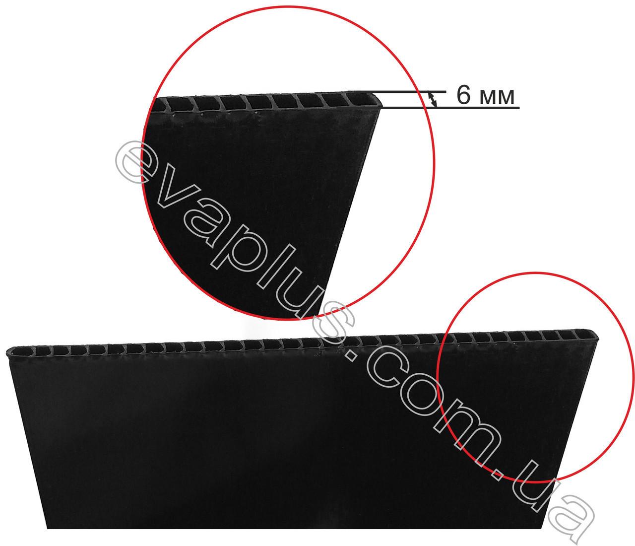 Каркас для ремонта чемоданов 224*20.5*6 см ( черный ) новый