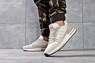 Кроссовки мужские 16182, Adidas, бежевые ( 44  ), фото 4