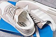 Кроссовки мужские 16182, Adidas, бежевые ( 44  ), фото 5