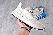 Кроссовки мужские 16182, Adidas, бежевые ( 44  ), фото 6