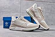 Кроссовки мужские 16182, Adidas, бежевые ( 44  ), фото 7