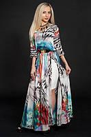 Купить летнее женское платье из шифона
