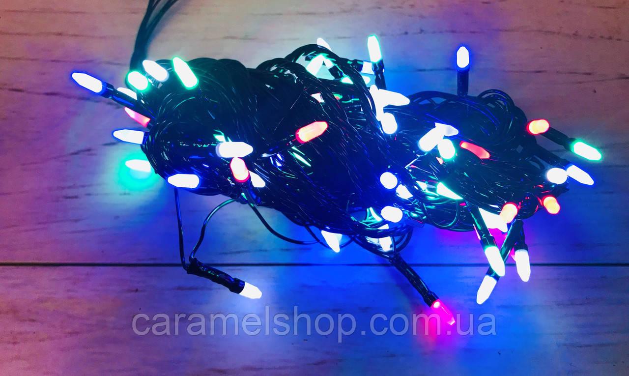 Гирлянда новогодняя Xmas 100 M-3 мультицветная