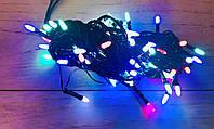 Гирлянда новогодняя Xmas 100 M-3 мультицветная, фото 1
