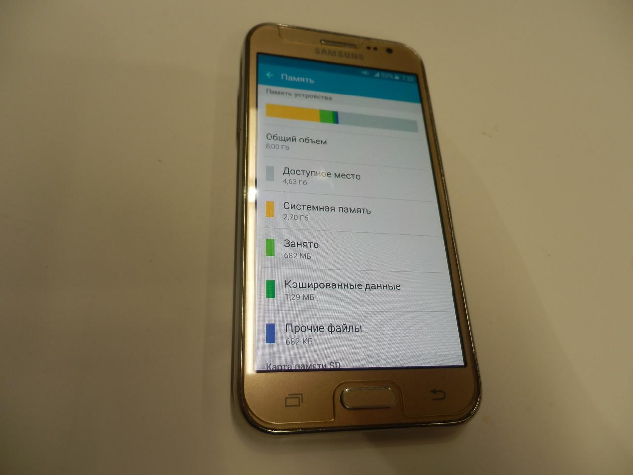 Мобильный телефон Samsung J200 duos 226ВР